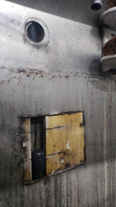 【横浜市南区修理事例】厨房の壁の中で水が噴射