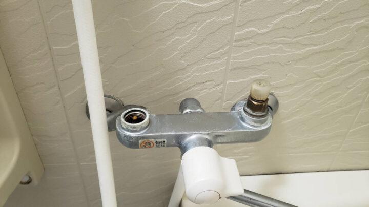 シャワー蛇口の水漏れ