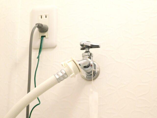 【横浜市港南区修理事例】洗濯用蛇口の交換